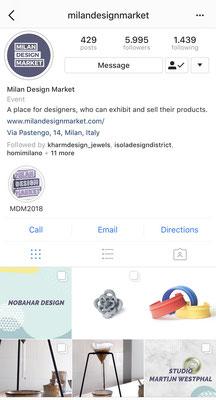 2018 April - Nobahar Design Milano contemporary jewelries on Milan Design market during milan design week