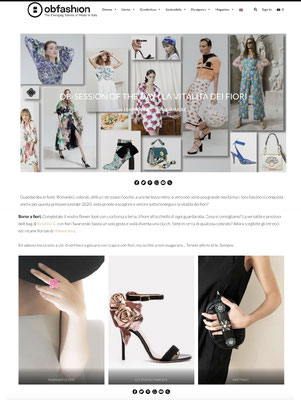 obfashion made in Italy - nobahardesign milano contemporary design jewelries