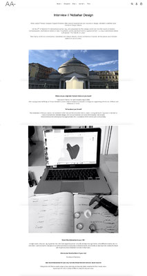 aacollected Berlin - nobahardesign milano contemporary design jewelries