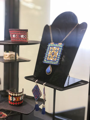 Azad Art Design by maryam Azadegan in Baluch needle works