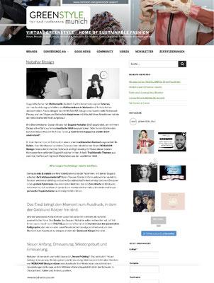 GreenStyle Munich - nobahardesign milano contemporary design jewelries