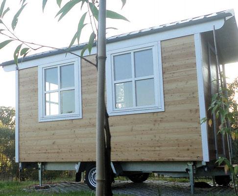 gartenhaus mobil aus unserem bauwagen bau holzbau pletz. Black Bedroom Furniture Sets. Home Design Ideas