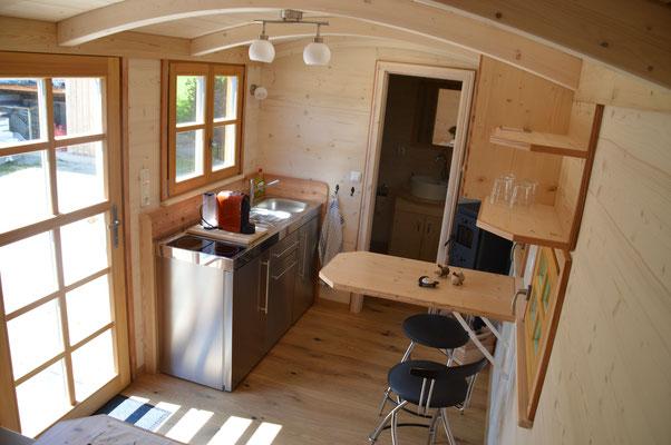 Tiny houses mini haus auf r dern holzbau pletz for Mini boden deutschland