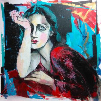 """Megi Balzer, """"Woman's Desire"""" Rufpreis 5.500,-€ Verkauft für 8.500,-€"""