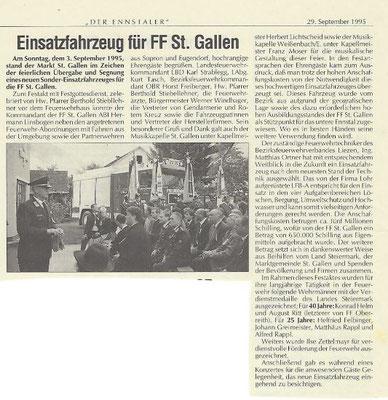 "29.09.1995 ""Der Ennstaler"""