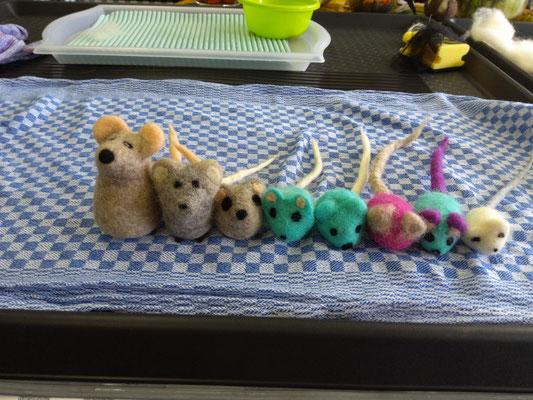 Mäuseparade