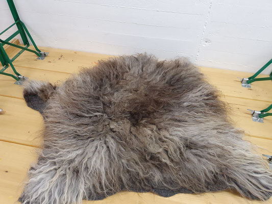 Skudde Vlies aus 100% Wolle