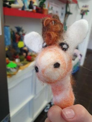 Fingerspielpuppe Giraffe