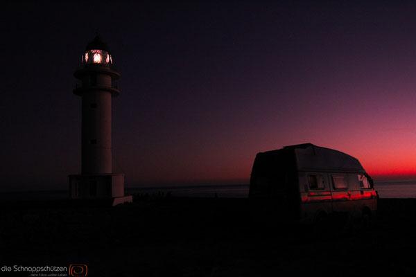 Hippies und der Leuchtturm