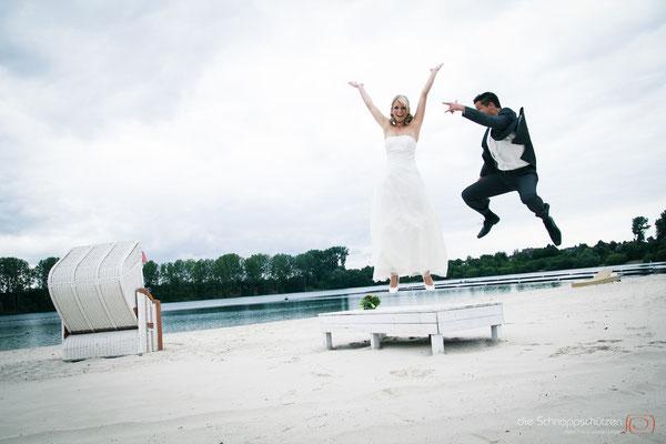 Hochzeitsreportage Sundown Beach Club Köln - die Schnappschützen