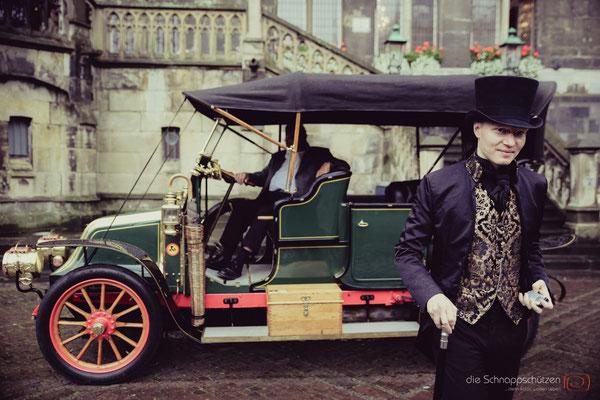 viktorianische Hochzeit | Mottohochzeit | (c) die Schnappschützen