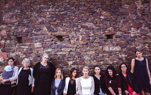 unkonventionelle Gruppenfotos auf Schloss Schönborn - (c) die Schnappschützen