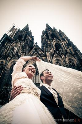 Hochzeitsreportage im Regen - die Schnappschützen