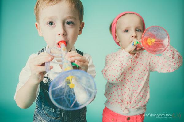 Retro Kinderfotos | Zwillinge | (c) die Schnappschützen