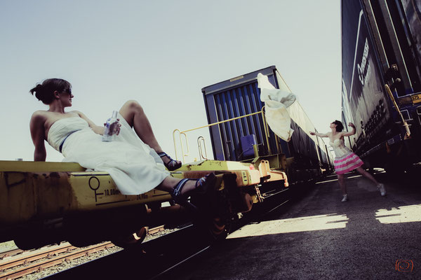 Trash the Dress | Thema: Thelma & Louise reloaded | die Schnappschützen