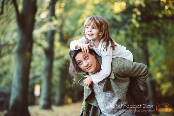 Familienshooting mit Angela Krebs und Ole Radach - (c) die Schnappschützen