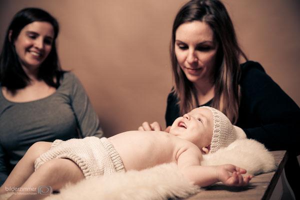 Babyfotos im Studio / (c) die Schnappschützen