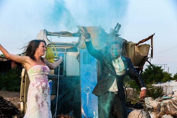 #Toyota trash the dress Shooting - (c) die #Schnappschützen - www.schnappschuetzen.de