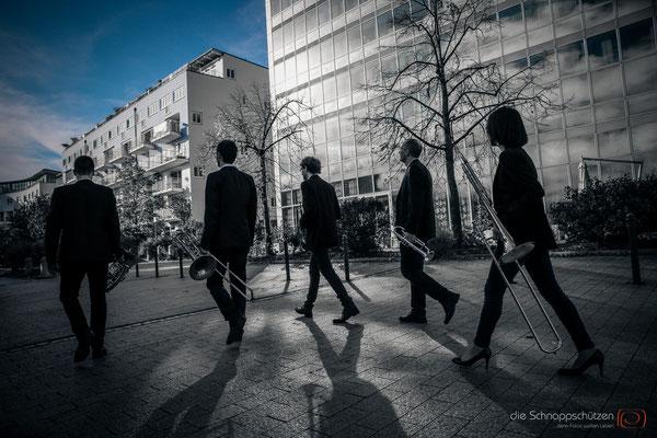 #Künstlerfotos | Navus Brass | (c) die Schnappschützen