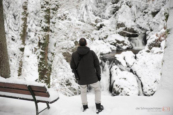 Blick auf la petite cascade - Vogesen Frankreich - reiseblog by Schnappschützen - www.schnappschuetzen.de