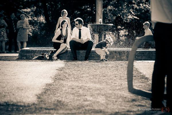Hochzeitsreportage bundesweit - die Schnappschützen