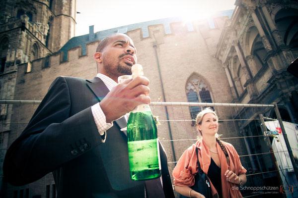 die Schnappschützen: Hochzeitsreportage Köln
