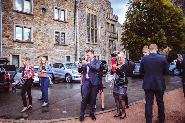 Hochzeitsreportage auf Burg Klopp in Bingen - (c) die Schnappschützen