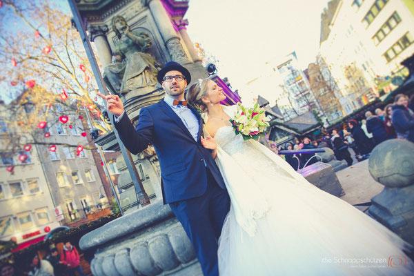 Hochzeitsreportage Köln | #Winterhochzeit | (c) die Schnappschützen