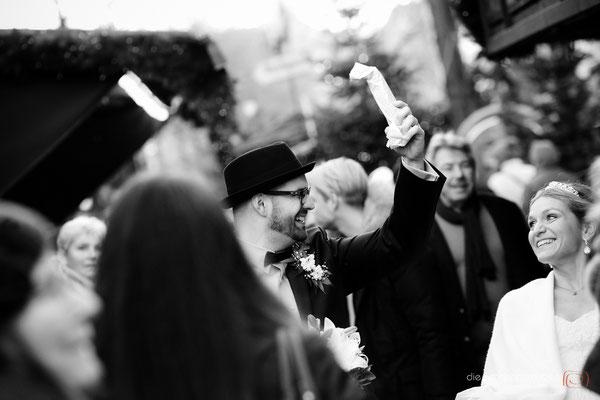 #Hochzeitsfotografie Köln | #Winterhochzeit |  (c) die Schnappschützen