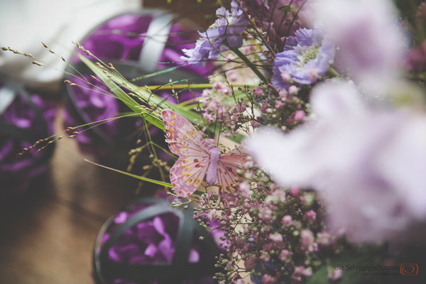 #Hochzeitsdeko einer besonders kreativen Floristin | (c) die Schnappschützen