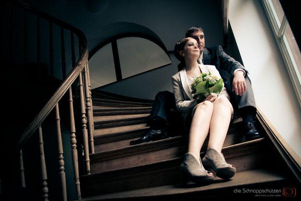 Hochzeitsreportage am Kaiserbahnhof  - die Schnappschützen