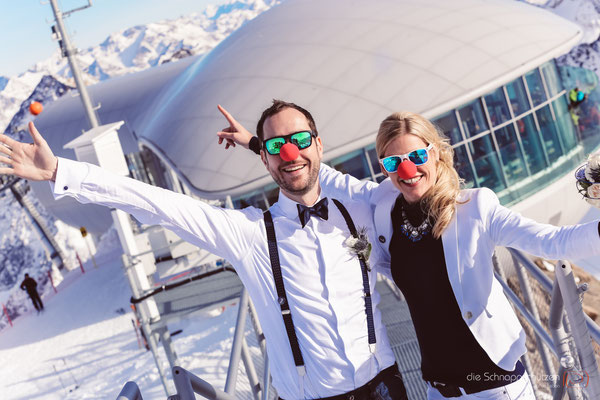 #Gletscherhochzeit #Pitztaler Gletscher #Winterhochzeit #Hochzeitsfotos Österreich | (c) die Schnappschützen