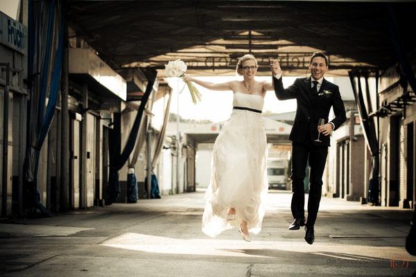 Hochzeitsreportage Alte Versteigerungshalle - die Schnappschützen