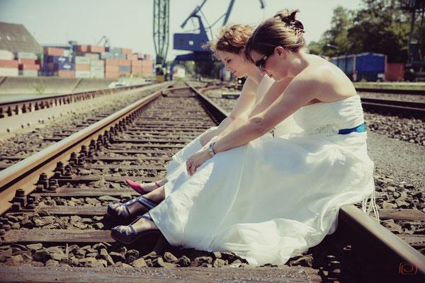 Trash the Dress | die Schnappschützen