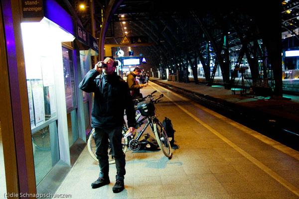 Erstes B&B (Bahnhof und Bier) - Elberadweg ab Schöna bis Dessau | Reiseblog by (c) die Schnappschützen - März 2014