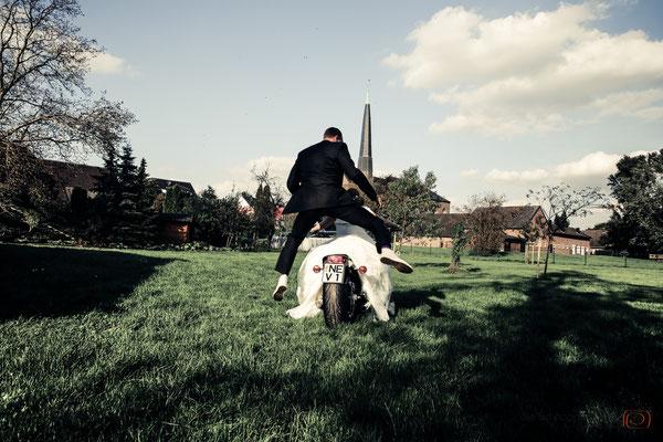 Bikerhochzeit & Mottohochzeit