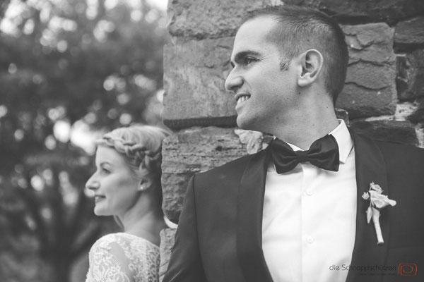 Brautpaarfotos auf Schloss Schönborn - (c) die Schnappschützen