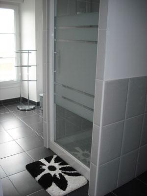 Salle de douche gite Le Manoir Mont-Saint-Michel