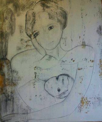 Acryl auf Leinwand/ 100x120 cm