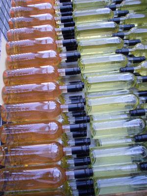 Flaschen über Flaschen