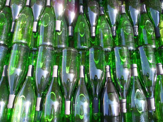 Noch mehr Flaschen! Ja es war ein anstrengender Tag.