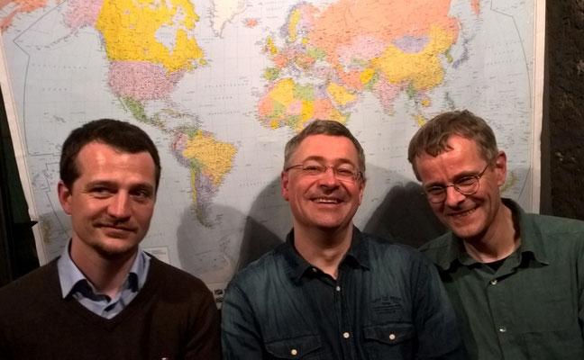 Vorsitzende: Wido Fischer, Jörg Gronmayer, Christoph Frank
