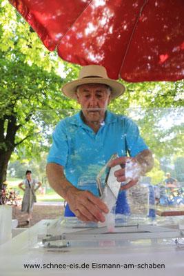 Schnee-Eis mit Sig. Rossi