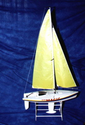 "Segelyacht ""Micro Magic"""