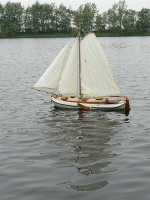 """Königliche Yacht """"Grüner Drachen"""""""