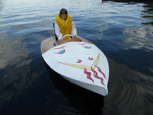 """Sportboot """"Spitfire"""" Eigner: Werner Fischer"""