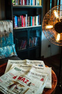 Cafe Leonardo© - Die wichtigsten Tageszeitungen täglich aktuell zum Frühstück