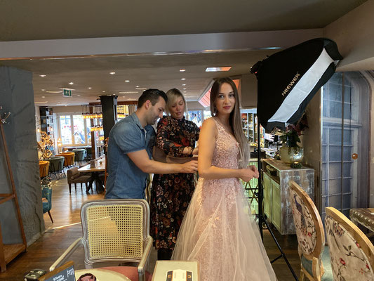 Cafe Leonardo© - Making Off Modelshooting (10/2019)