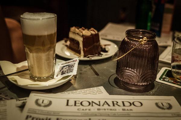 Cafe Leonardo© - Latte, Kuchen und mehr: das ganz besondere Dessert in einem ganz besonderen Ambiente