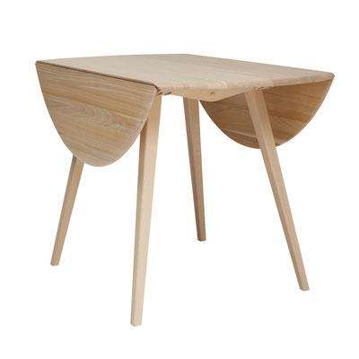 No,3384 ドロップリーフテーブル サイズ:W620-1200 D1100 H730㎜